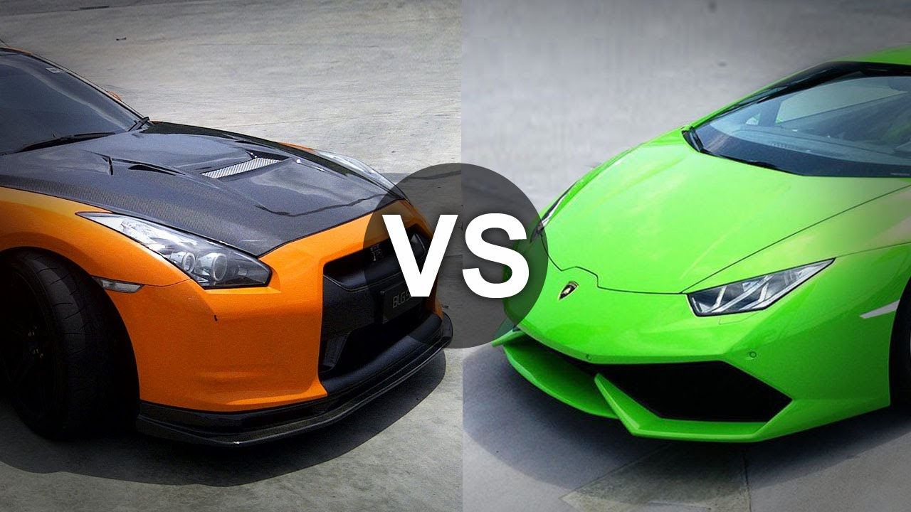 lamborghini huracan vs nissan gtr drag race draginfo youtube. Black Bedroom Furniture Sets. Home Design Ideas