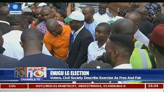 Voters, Civil Society Describe Enugu LG Election Exercise As Free & Fair