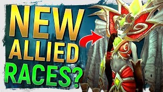 SAN'LAYN! The New Undead Blood Elf Allied Race?! Lich King Involvement? | Battle for Azeroth