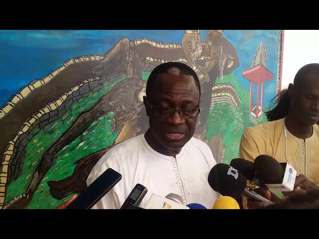 Mignane Diouf Forum social sur la rencontre de Dagos