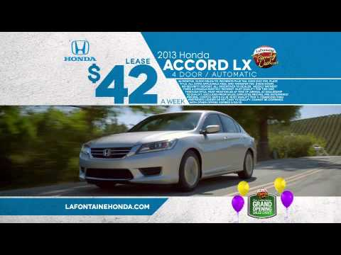 Lafontaine honda grand opening sales event dearborn for Lafontaine honda dearborn