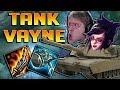 GUINSOO'S TANK VAYNE TOP IS SO BROKEN!! KITE AND TANK FOREVER! - Full Tank Guinsoo's Vayne Gameplay
