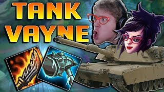 GUINSOO'S TANK VAYNE TOP IS SO BROKEN!! KITE AND TANK FOREVER! - Full Tank Guinsoo's Vayne Gameplay