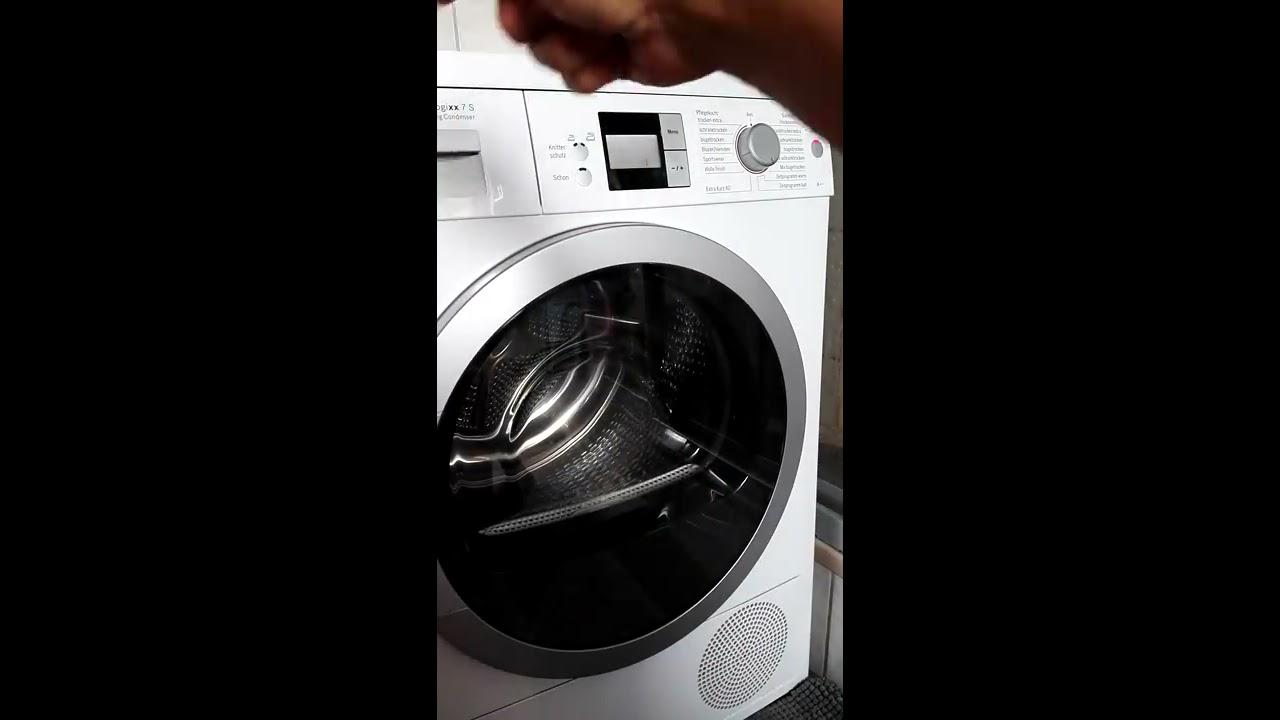 Bosch trockner reinigen wäsche hat extrem gemüffelt