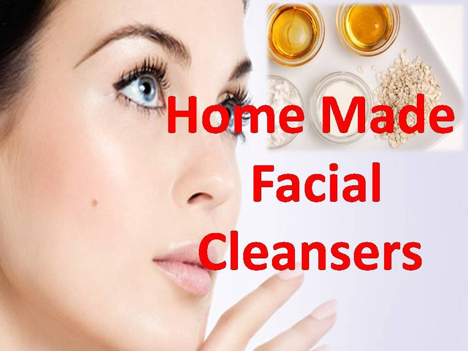 Home facial cleansers