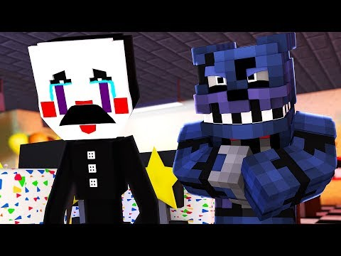 PUPPET GETS BULLIED?! Minecraft FNAF Sister Location School Roleplay