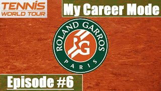He's NOT German!! Tennis World Tour Career Mode #6 - Shifty's Adventures - 2RG