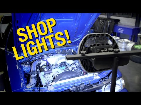The BEST And BRIGHTEST Lights For The Home Or Garage - Eastwood's Guide To Lighting The Shop!