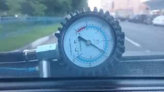 Измерение давления в рампе