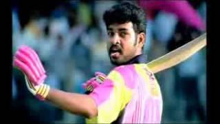 rajinikanth style batting chennai super stars