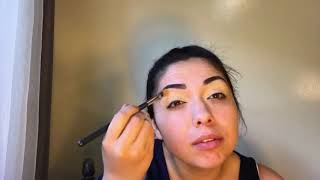 Beautiful brown eyeshadow [fast and easy makeup idea]