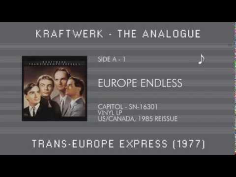 Kraftwerk - Trans-Europe Express (1977) Vinyl LP, US & Canada, 1985 Reissue
