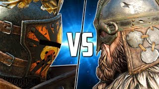 [For Honor] Spliced VS Kenzo!
