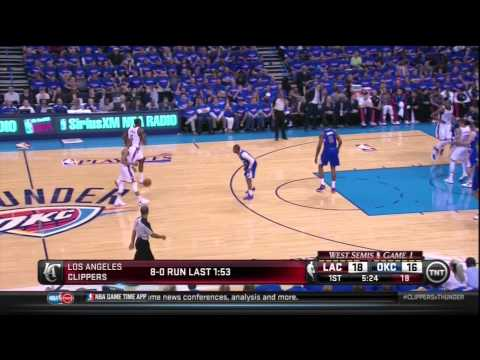 How Chris Paul Destroyed The Thunder: Clippers at Thunder Game 1