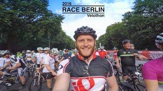 Radrennen durch Berlin Velothon 2016 66,5km