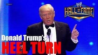Donald Trump turns heel at Madison Square Garden