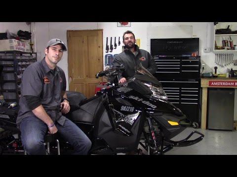 Ski Doo Chain Case Oil Change PART 2 by RawFuelTV