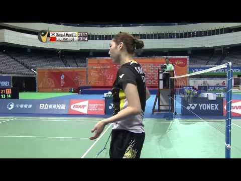 2014 YONEX CHINESE TAIPEI OPEN- F- WS - Match 2