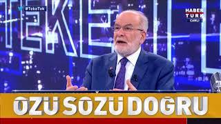 Haber Türk Teke Tek - Cumhurbaşkanı Adayı Temel Karamollaoğlu - 03.06.2018