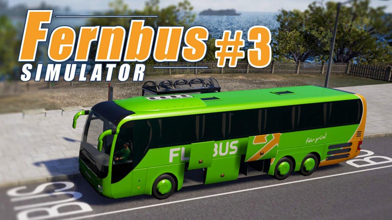 FERNBUS SIMULATOR #3: STAU in Duisburg! I Let\'s Play Fernbus ...