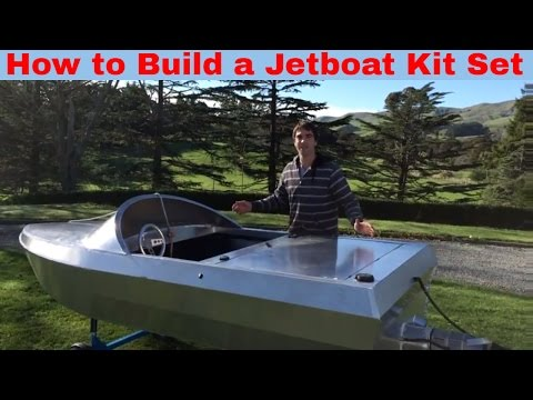 How to build a JetBoat Kitset