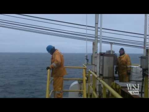 Onboard an Oil Rig in the Arctic