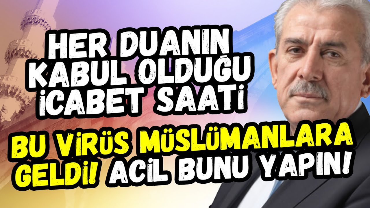 Kadir Gecesini ararken her duanın kabul olduğu icabet saatlerini kaçırmayın... Mehmet Ali Bulut