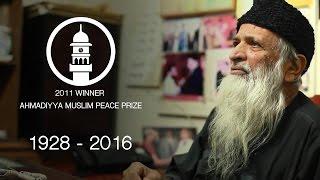 R.I.P Abdul Sattar Edhi - Ahmadiyya Award Winner
