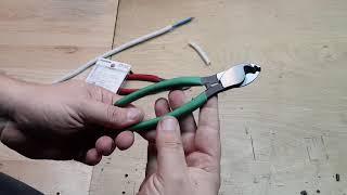 Cleste ENGINEER PK-50 pentru dezizolat si taiat cabluri si conductori