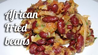 African fried beans recipe