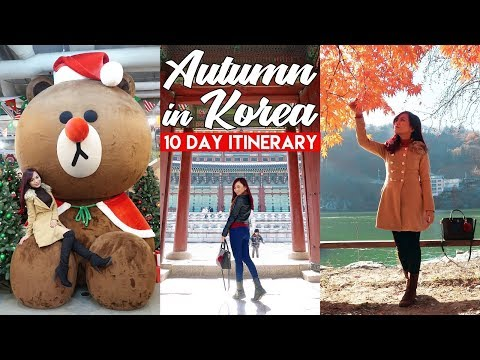 Travel Vlog : AUTUMN in SEOUL, KOREA (10 Day Itinerary)
