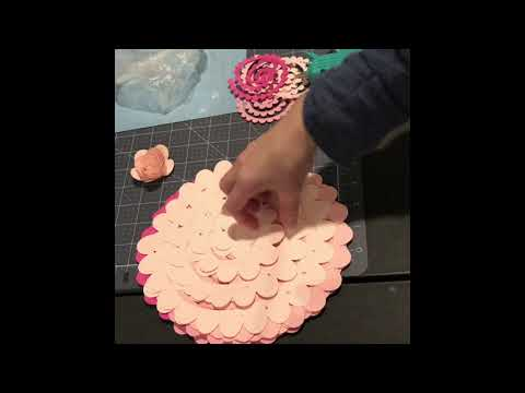 Rolled Roses Using Your Cricut and Cricut Access