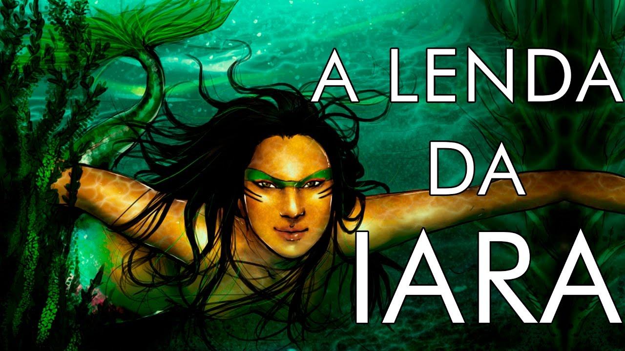 A LENDA DA IARA :. A sereia Iara, Mãe D'água - YouTube