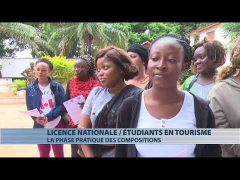 Education : déroulement de l'examen national de licence en tourisme