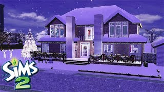 The Sims 2 Christmas Colonial Speed Build! // MERRY CHRISTMAS! 🎅🎄