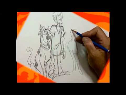 How To Draw The Scooby-Doo Gang