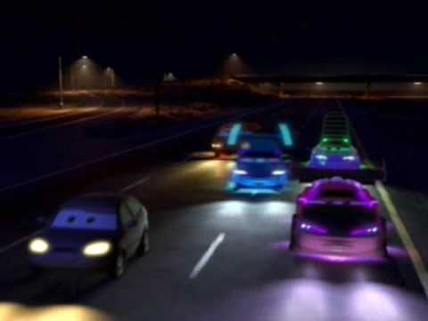 Cars video youtube - Flash mcqueen et mack ...