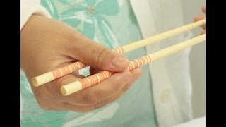 How to Hold & Use Chopsticks the Right Way!