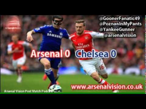 Arsenal Vision Post Match Podcast - EP30: Arsenal 0 Chelsea 0 - Boring boring Chelsea
