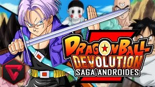 dragon ball z devolution saga androides