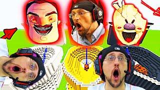 Roblox Piggy Meets The Simpsons Escape Piggysons Fgteev Wibbit Mode Minecraft Youtube Gaming Family