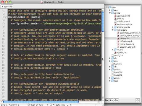 RailsCasts - #210 Customizing Devise