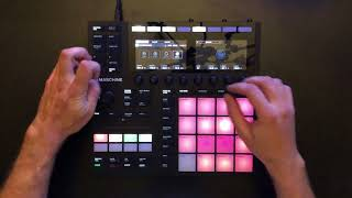 MASCHINE MK3 - Live Performance (MELODIC TECHNO)
