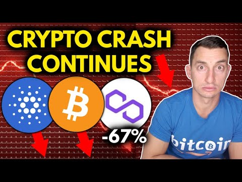 CRYPTO CRASH CONTINUES! MORE ALTCOIN BLOOD! Bitcoin Price Support Weak
