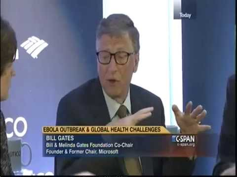 Bill Gates Interview On Ebola Outbreak