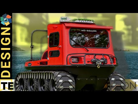 15 Cool Amphibious Vehicles and Multi-Purpose Vehicles