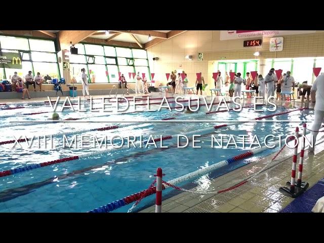 XVIII Memorial de natación Tomás Martínez Urios 2021 #Aspe
