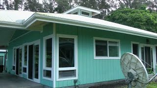 Off the Grid House in Hawaii, Part 2; Rainwater Catchment System