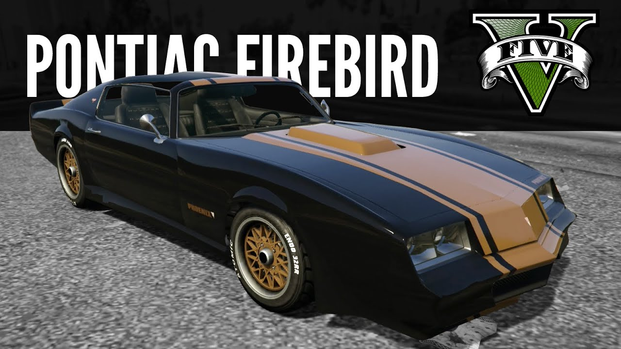 Imponte Phoenix Pontiac Firebird Build GTA5 PS4 YouTube