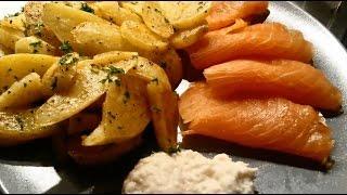 Smoked Salmon With Potatoes And Horseradish